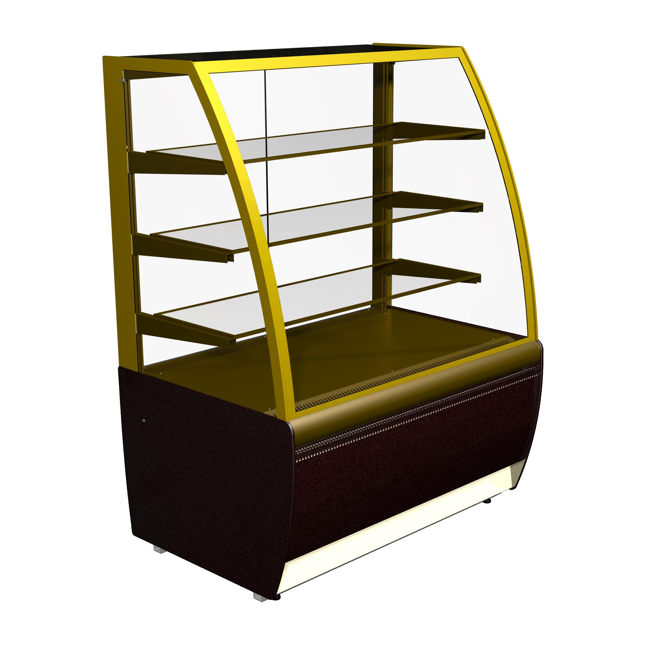 Холодильная витрина ВХСв — 0,9д Carboma Люкс (K70 VV 0,9-1)
