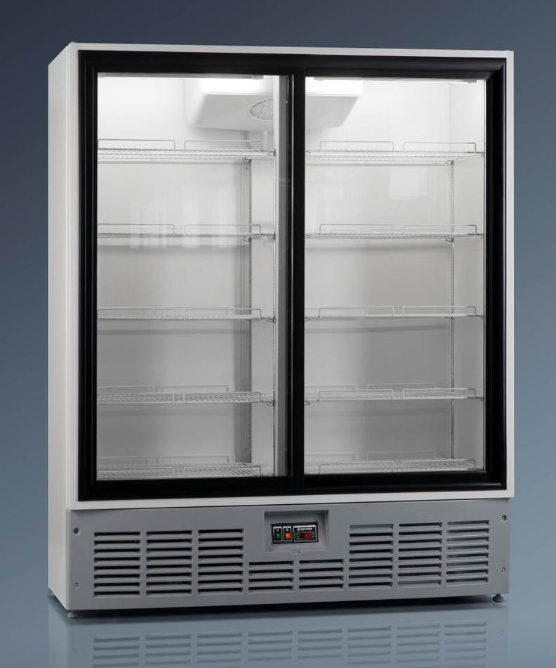Холодильный шкаф R1400MC (дверь-купе)