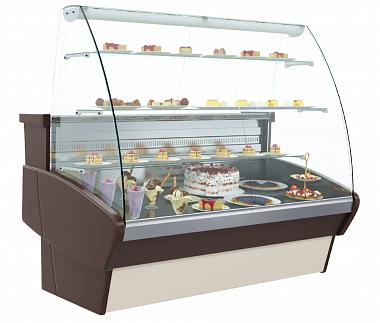 Холодильная витрина K95 SM 1,5-1 (ВХСд-1,5 Полюс)