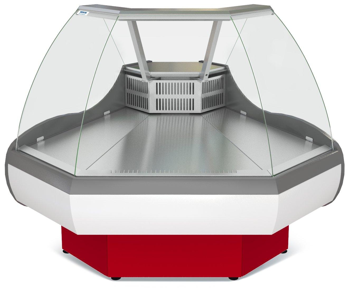 Холодильная витрина ТАИР ВХС-УН (угол наружный)