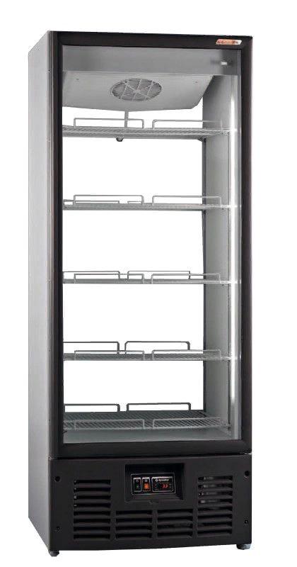 Холодильный шкаф R700MSW (стеклянная дверь, прозрачная стенка)