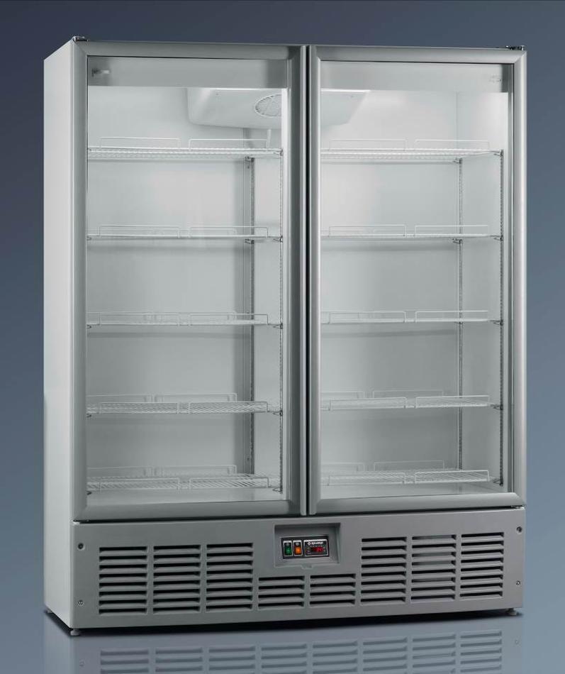 Холодильный шкаф R1400МS (стеклянные двери)